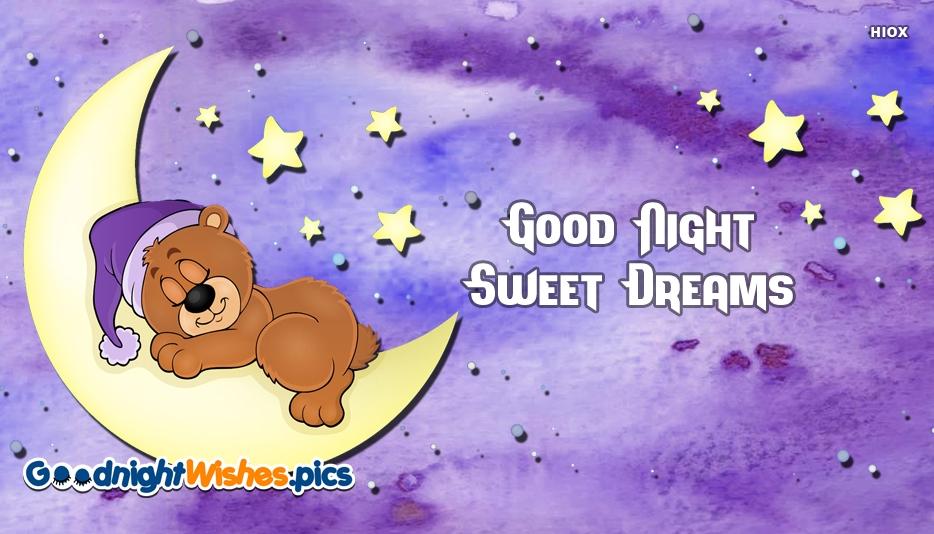 Good Night Sweet Dreams Cartoon