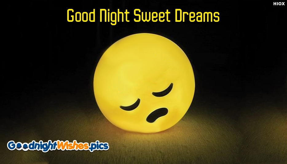 Good Night Wishes Emoji