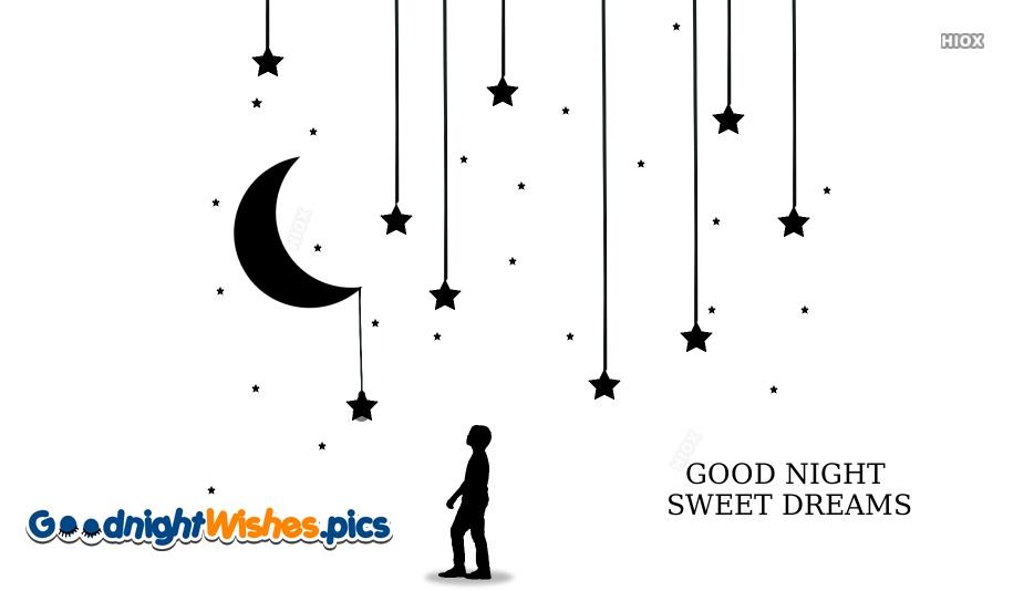 Good Night Sweet Dreams Moon