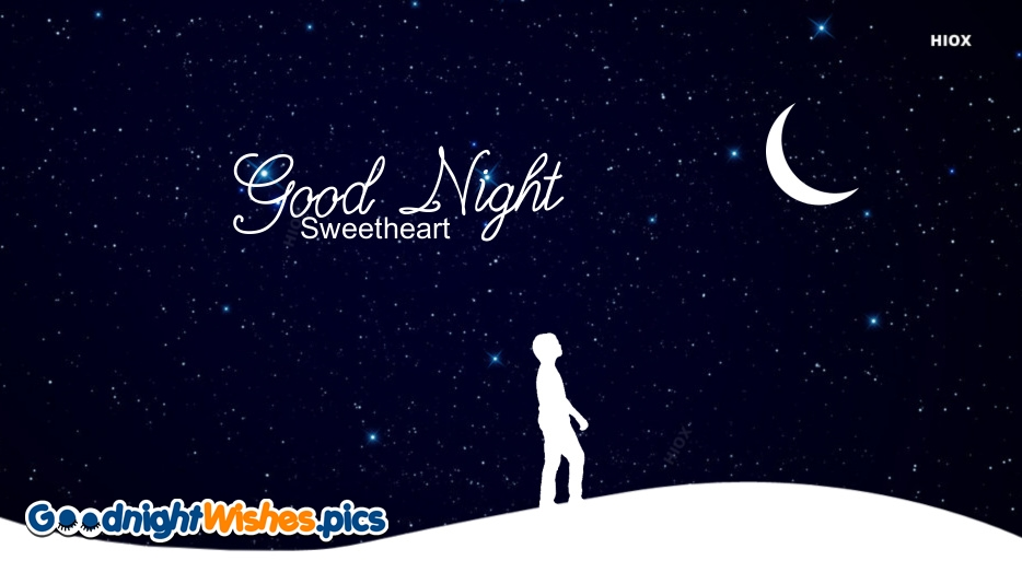 Good Night Wishes for Sweetheart