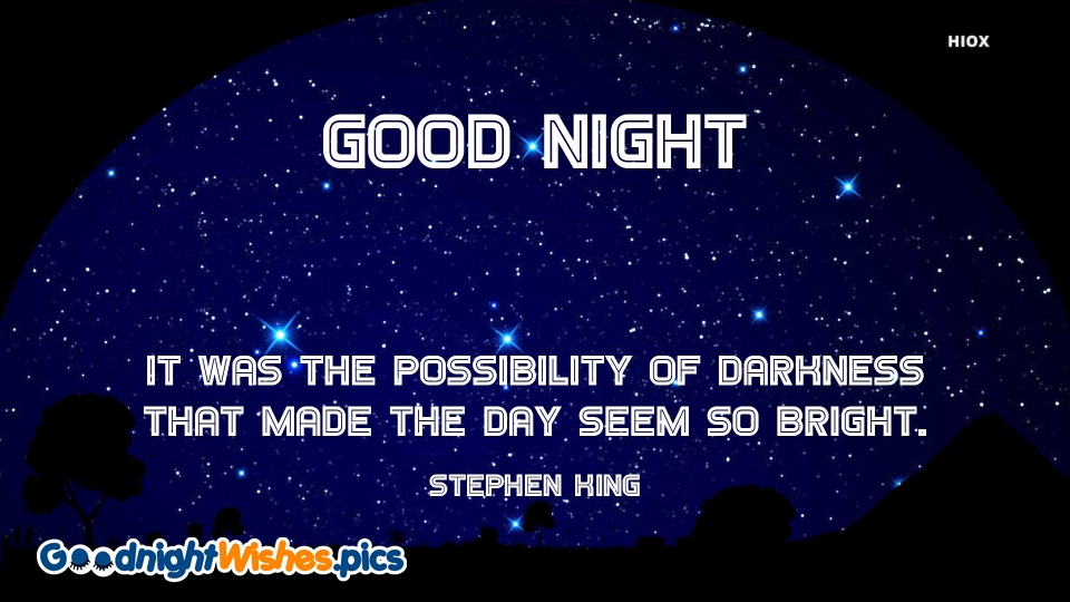 Good Night Wishes for Encouraging