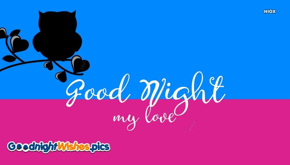 Good Night To My Boyfriend