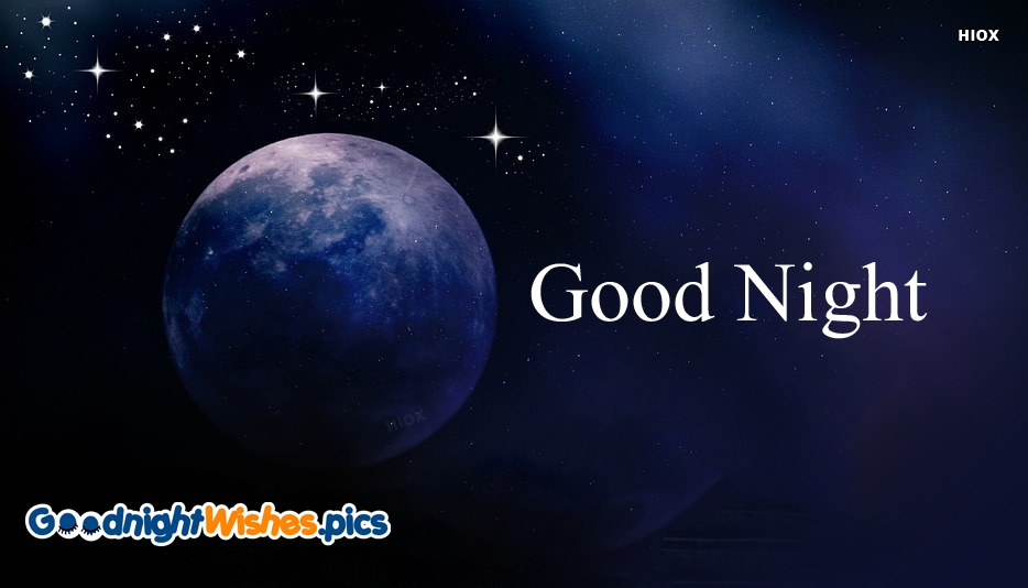 Good Night Wishes For Facebook Wallpaper