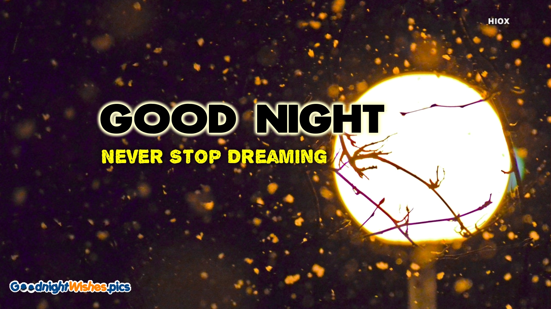 Good Night Wishes with Motivation