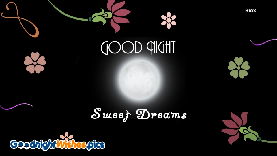 Good Night Wishes for Greeting