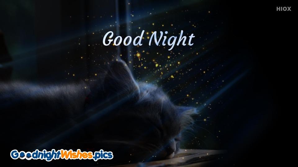 Good Night Wishes for Elegant