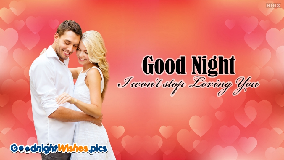 Good Night Wishes for Love Forever