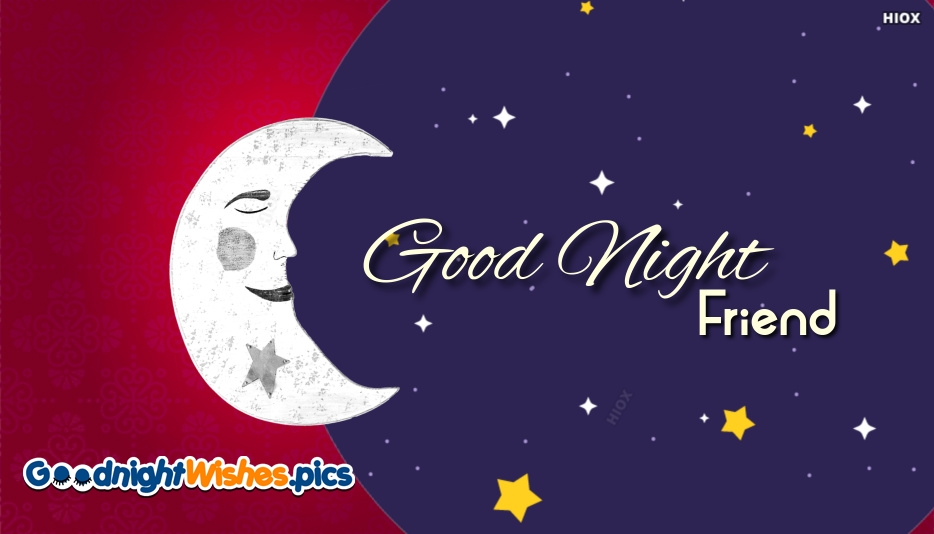 Good Night Wishes For Friend