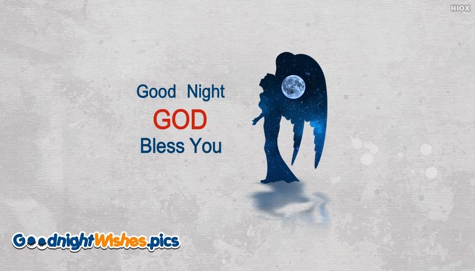 Good Night Wishes God