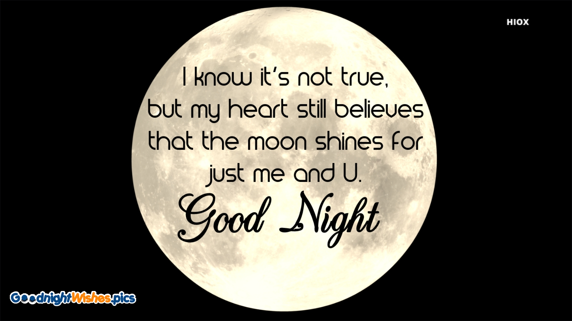 Good Night Wishes In English