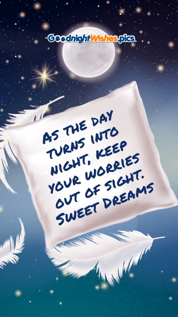 Good Night Wishes Message
