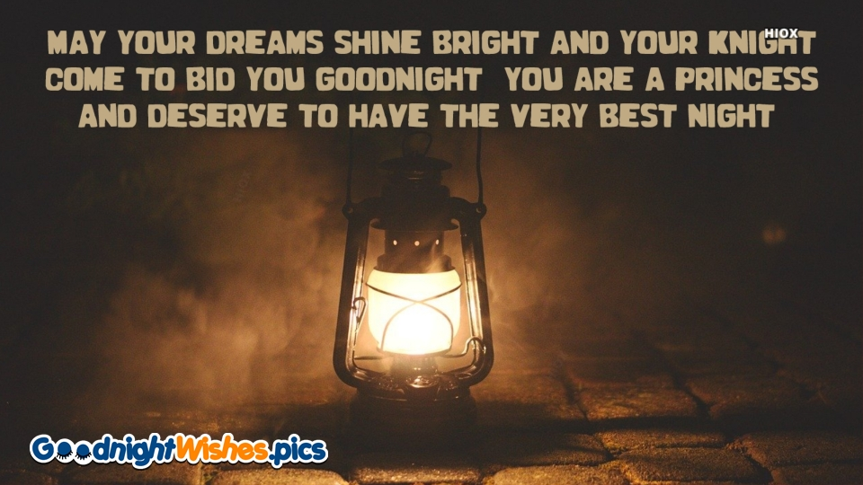 Good Night Wishes Quotes for Princess