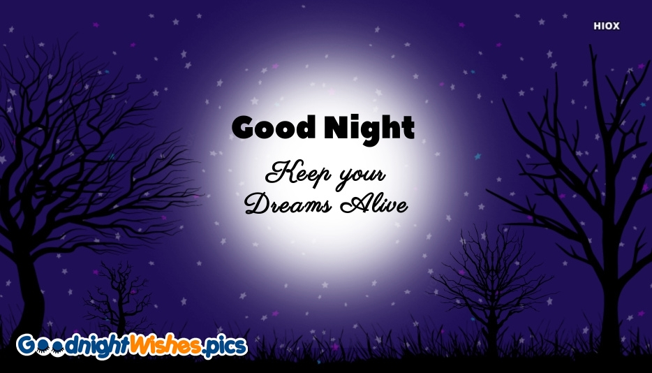 Good Night Wishes Photos