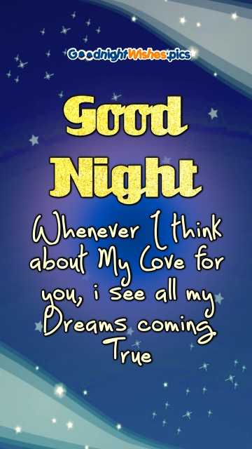 Good Night Wishes Quotes For Him