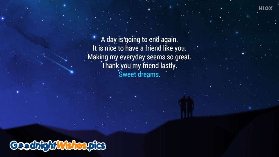 Good Night Wishes Quotes To Best Friend