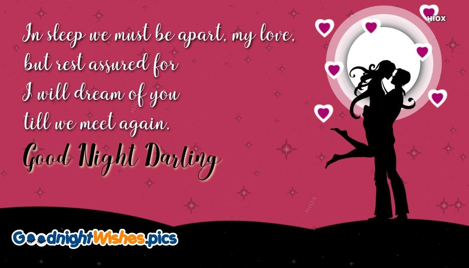 Good Night Wishes To Girlfriend