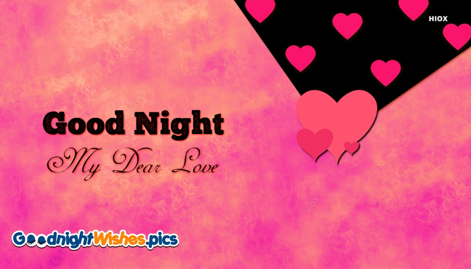 Good Night Wishes To Lover