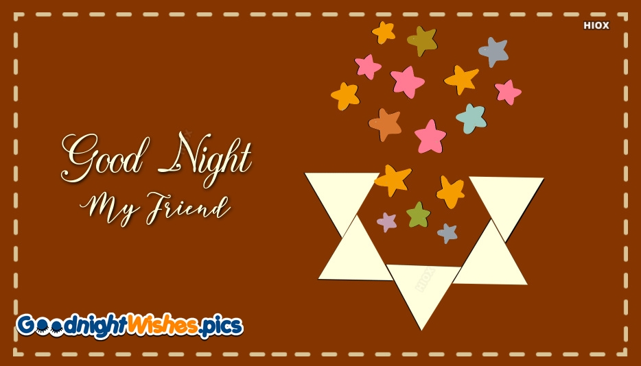 Good Night Wishes To Your Friend