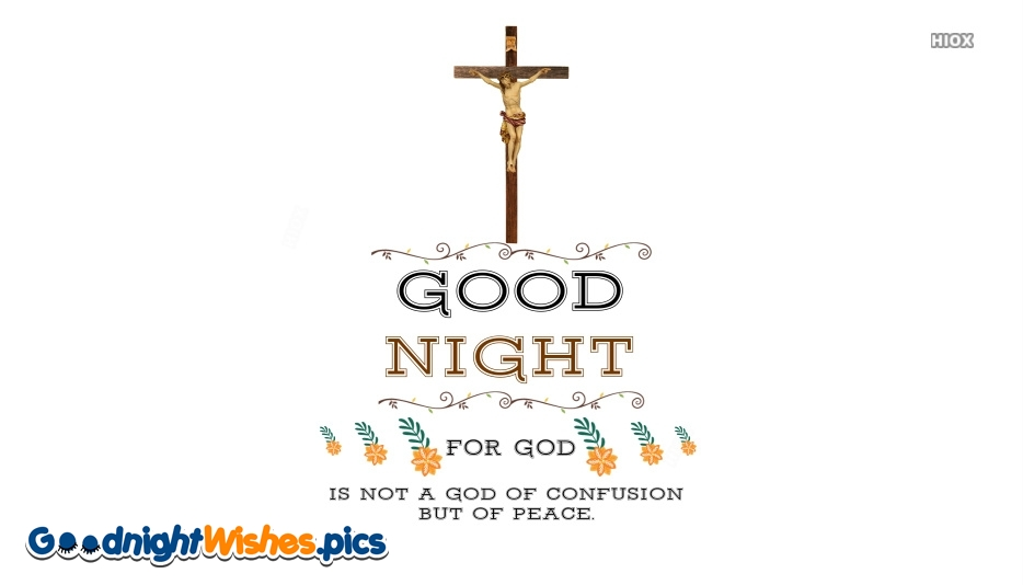 Good Night Wishes With Bible Verses