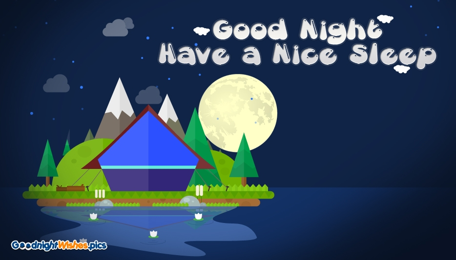 Good Night Wishes with Moon @ Goodnightwishes.pics