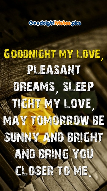 Good Night Wishes Quotes With Rose