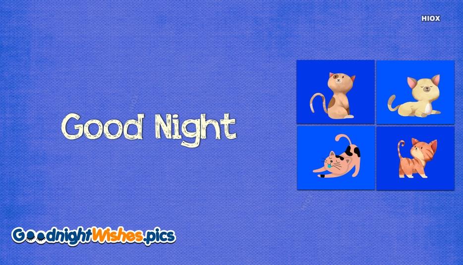 Good Night Cartoon Images