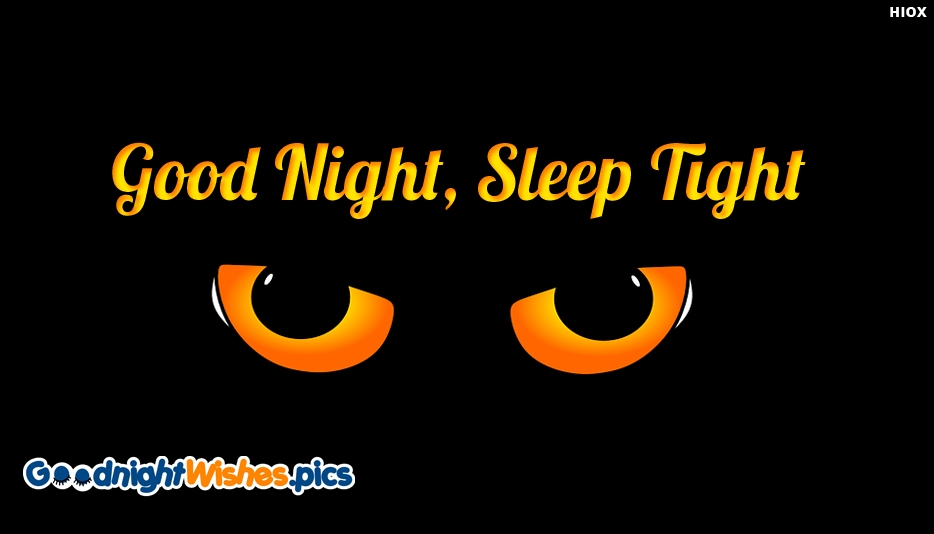 Good Night With Eyes - Funny Good Night Images