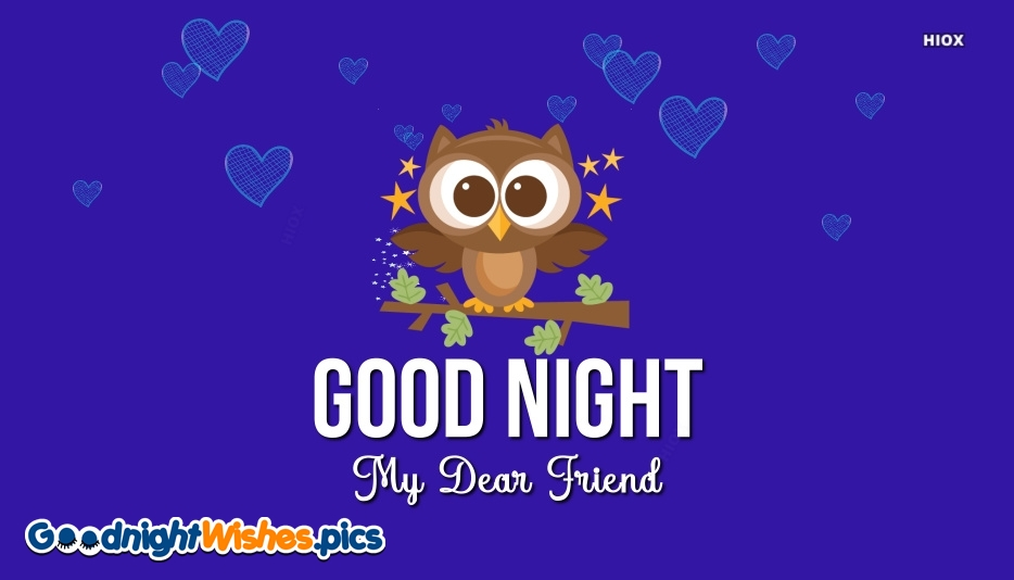 Good Night Wishes for Friendship