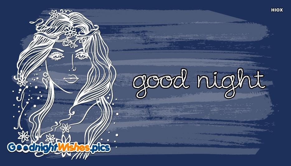 Good Night With Girl Image