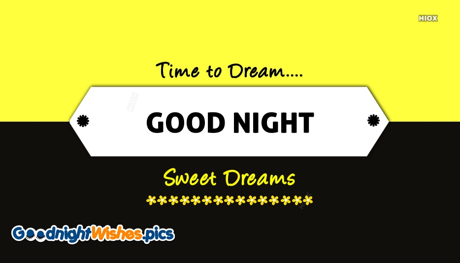 Good Night Dreams Images, Pictures