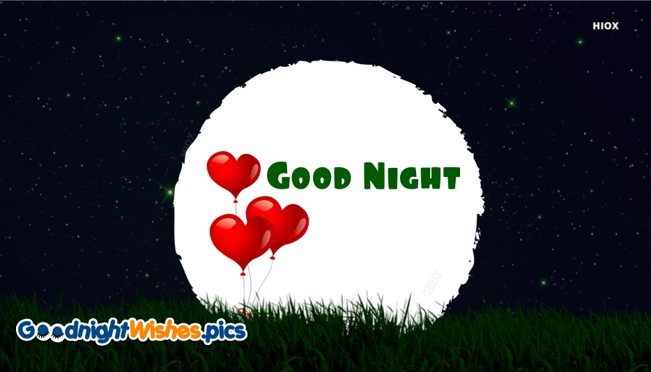 Good Night Heart Images, Pictures