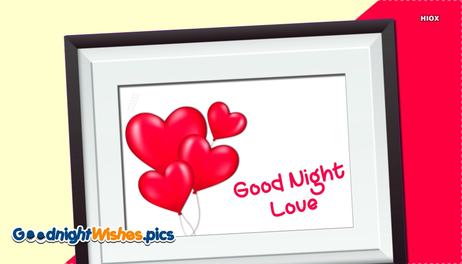 Good Night With Heart Images