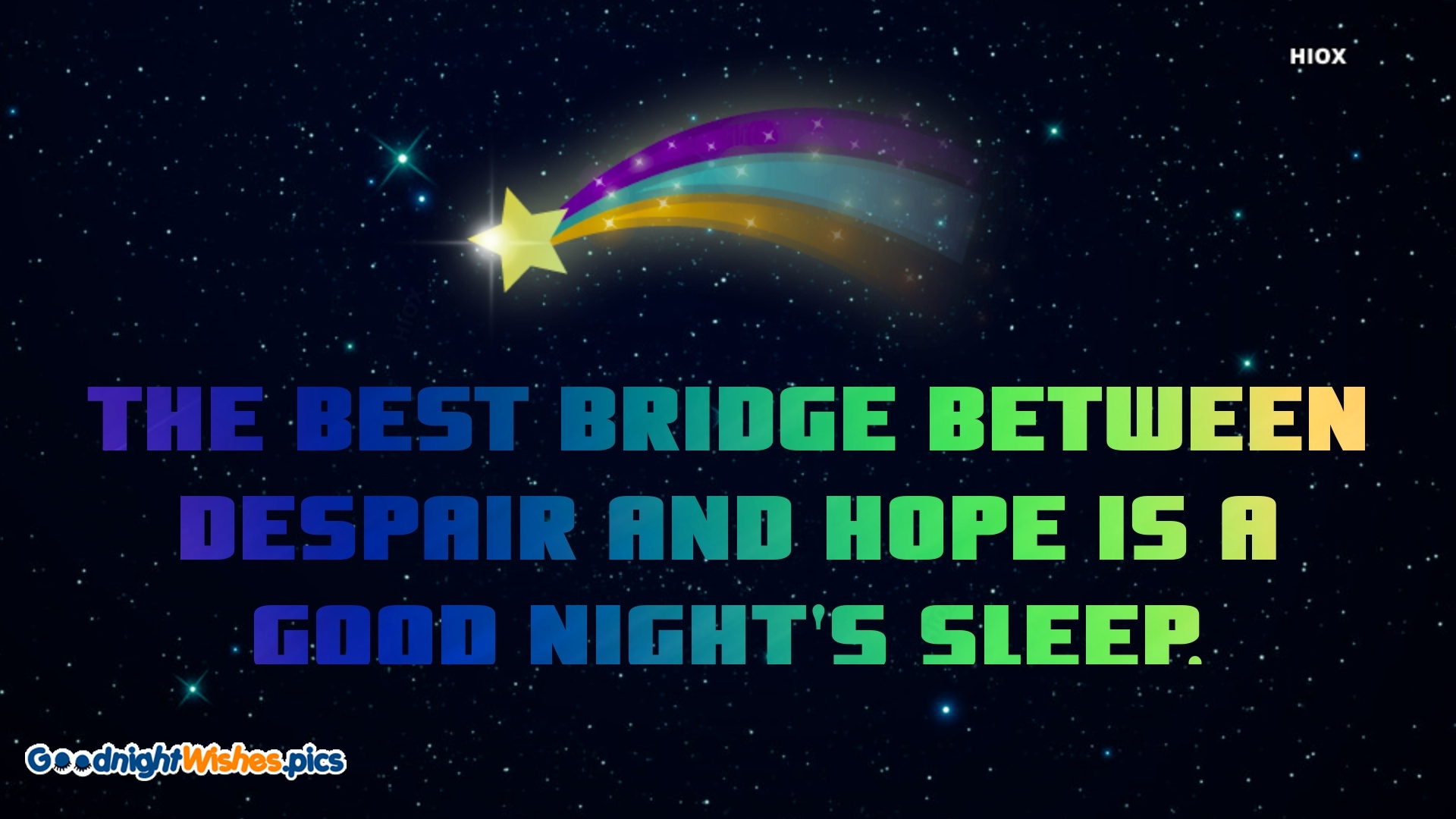 Good Night With Hope