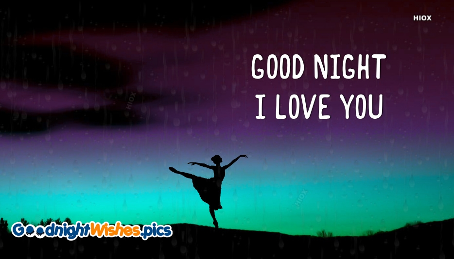 Good Night With I Love You