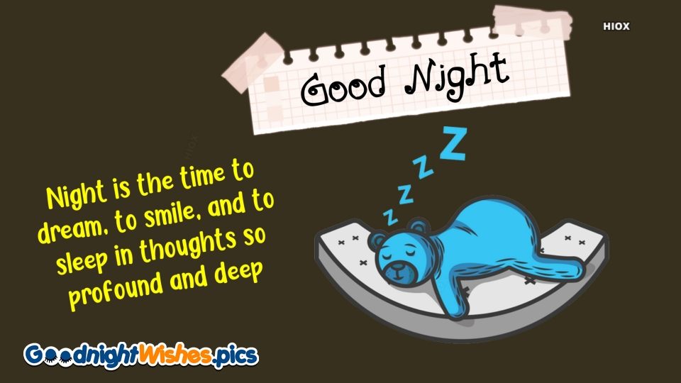 Good Night Wishes for Life Sayings
