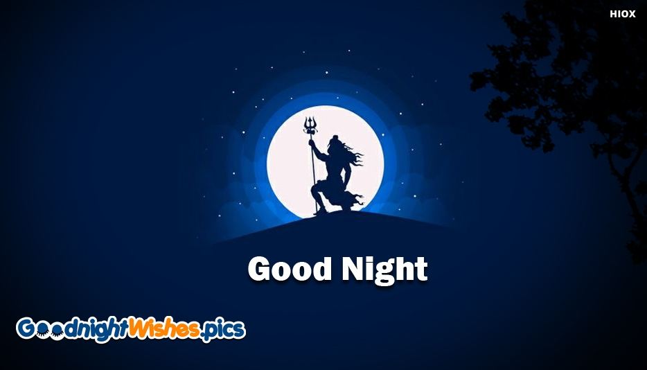 Good Night With Lord Shiva - Good Night Images With Lord Shiva