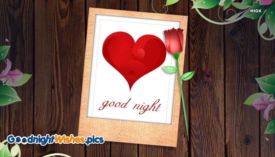 Good Night With Love Symbol