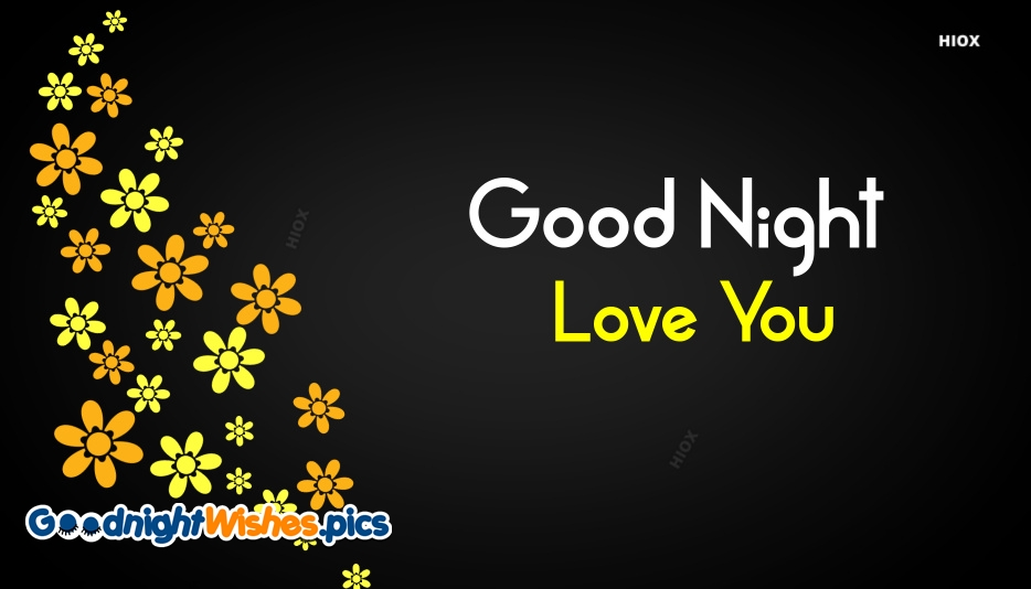 Good Night With Love You