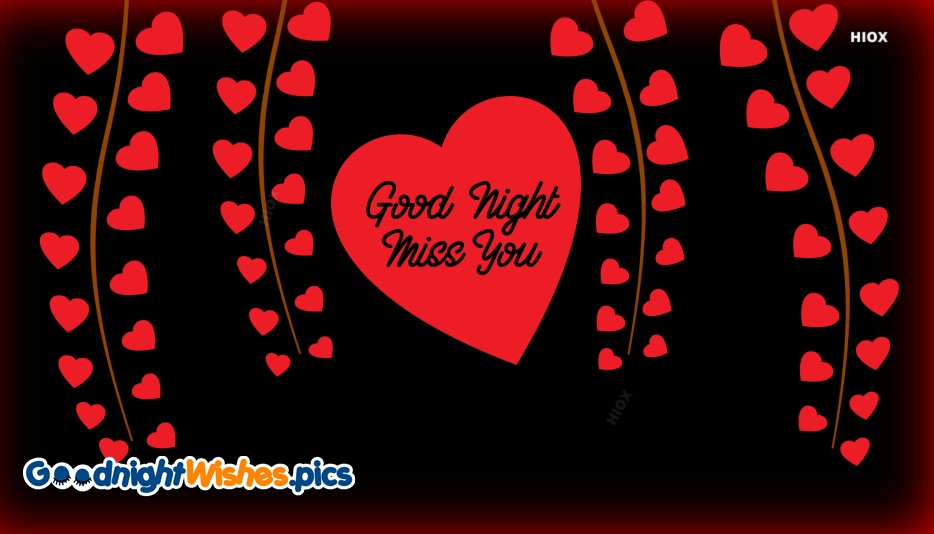 Good Night With Miss You Images