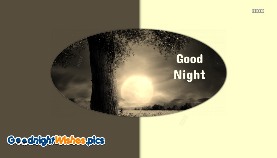 Good Night With Nature Gif