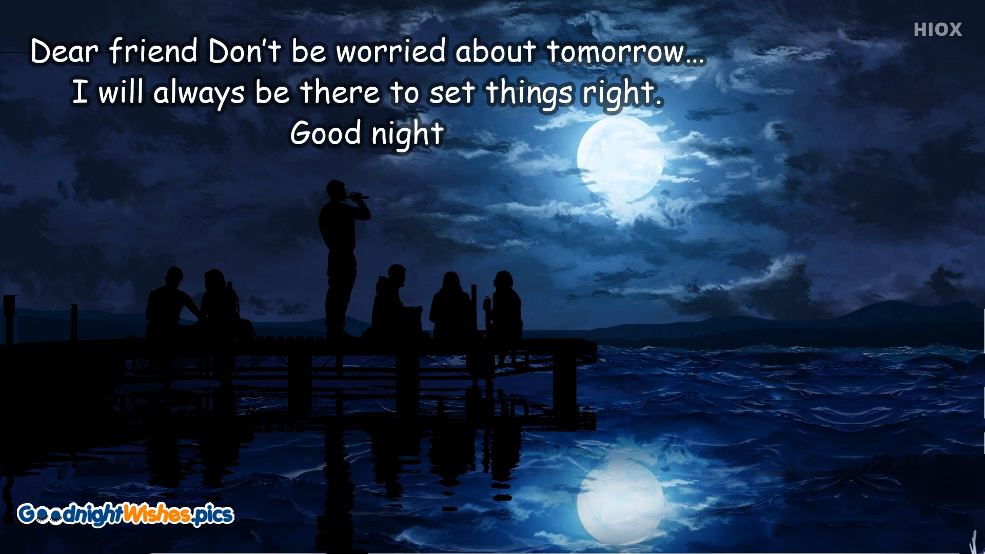 Good Night With Quotes For Friends