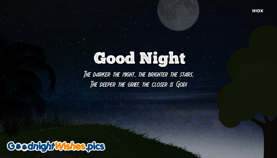 Good Night With Quotes Images