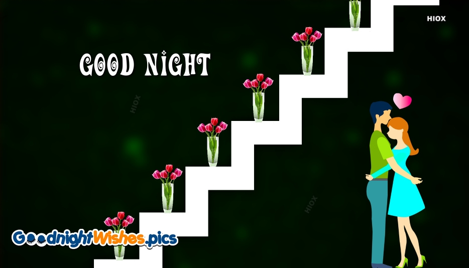 Good Night With Romantic Image