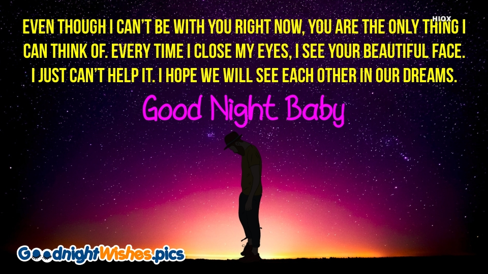 Good Night Baby Sad Quotes
