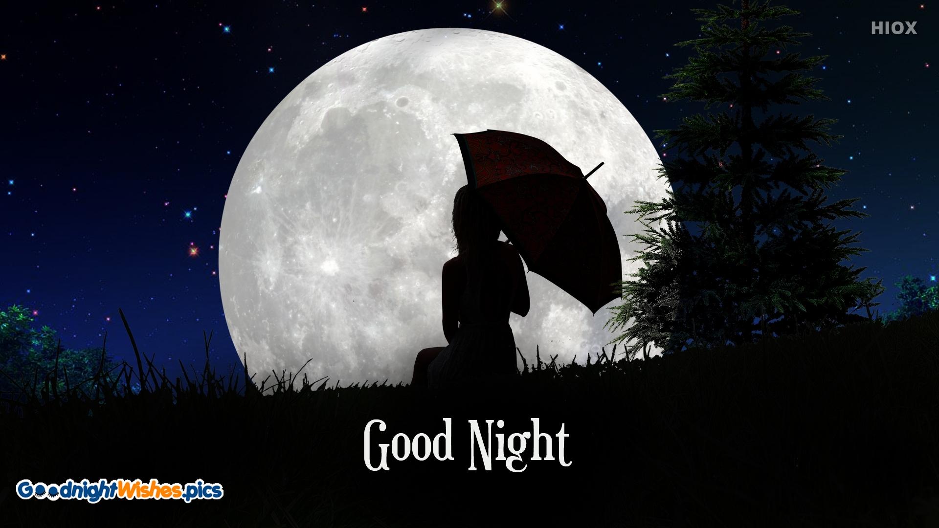 Good Night With Umbrella