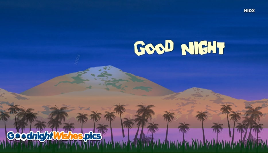 Good Night With Wallpaper