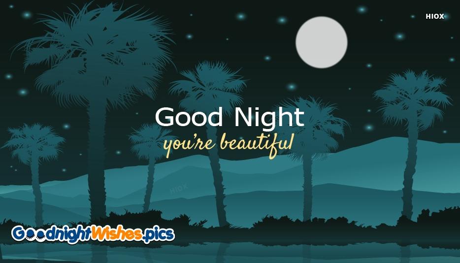 Good Night You re Beautiful