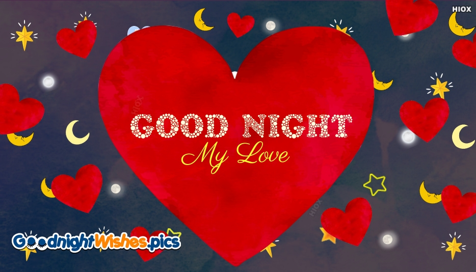 Goodnight My Love Wallpaper Image : Good Night Images With Stars