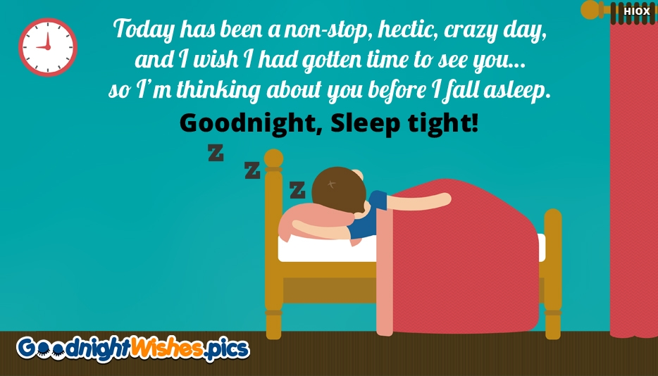 Goodnight, Sleep Tight Wishes Quotes