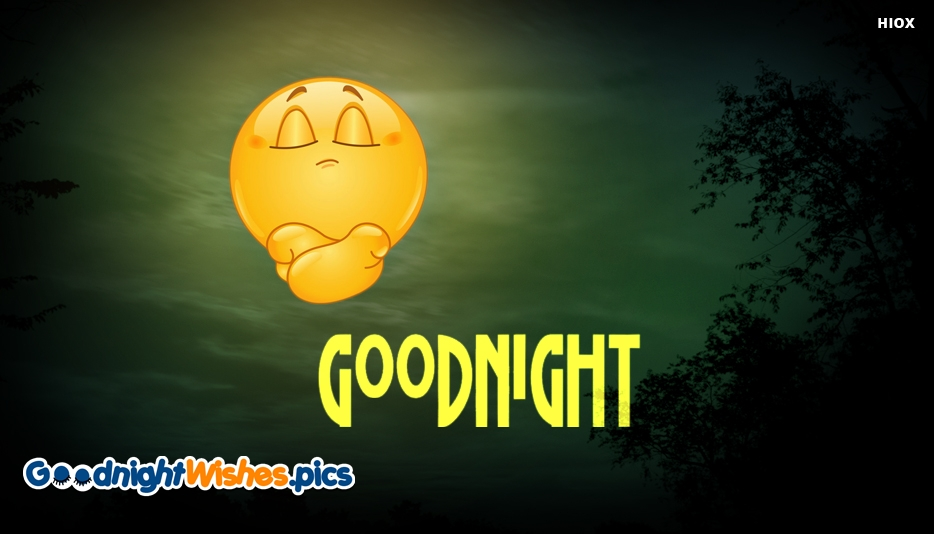 Goodnight With Emojis - Good Night Wishes for Friends